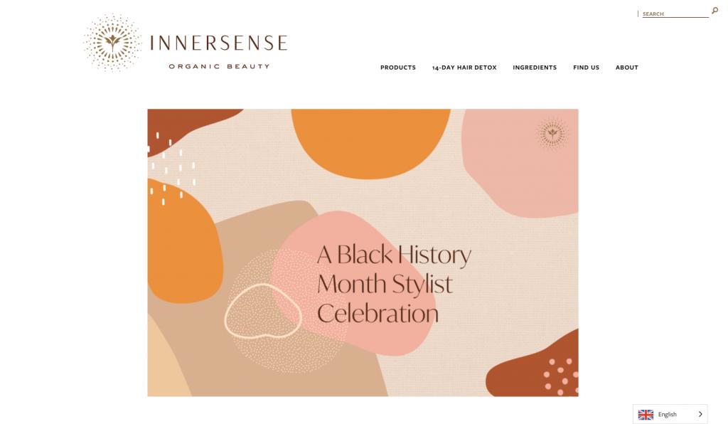 Kinsa Hair Spa article innersense beauty - histoire des noirs - curl specialist