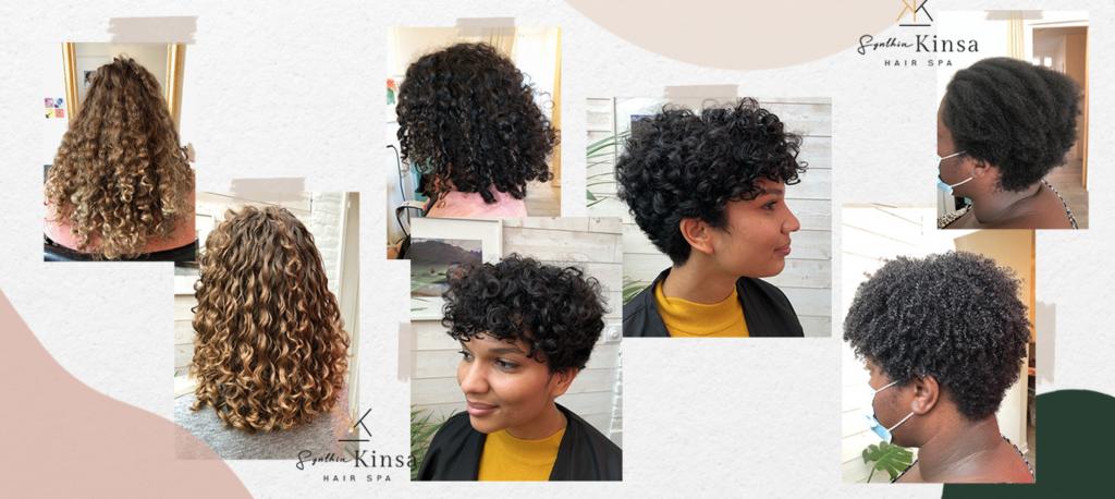 Coiffeur cheveux bouclés - KINSA HAIR SPA - Rennes