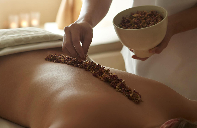 Massage dos 2 - Souffle du Kalahari - Kinsa Hair Spa